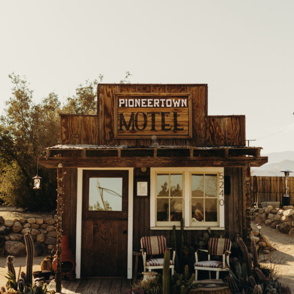 Woolrich x Pioneertown Motel